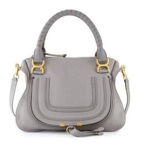 c776a6de Chloe medium satchel grey designer bag